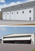 Hangar Doors Commercial Overhead Doors by Clopay